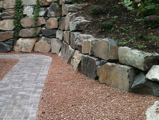 An example of a landscaping job